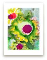 Abstract Daisy by Anna Marie Farmer
