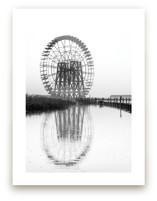 Wheel in the mist by van tsao