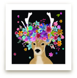 The Decorated Deer by Annie Bakst
