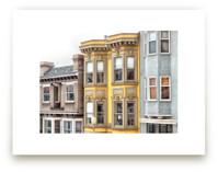 Row in San Fransisco by Mary Ann Glynn-Tusa