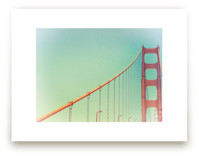 Soft Golden Gate by Mary Ann Glynn-Tusa