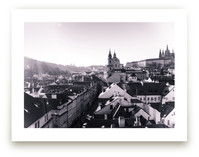 Sunshine Over Prague by Heather Squance