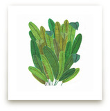 Green Leaf Bouquet by Madeline Trait