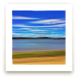 Abstract Beachscape