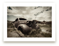 Cars of Bodie, CA :: II by Kellie Medivitz