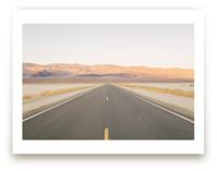 Sunset Desert Highway