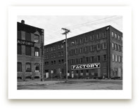 Factory in Monochrome