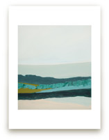 Abstract  Seascape Jade Green