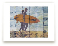 2 Indigo Surfers, Orang... by Annie Seaton