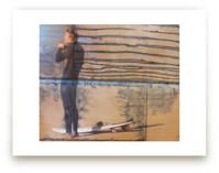 Indigo Surfer with Stri... by Annie Seaton