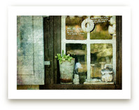 Shabby Windowsill by Heather Squance
