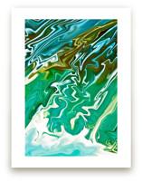 Waterfall Swirls by Debra Butler
