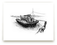 Another Sketchy Boat  by Tung Tram