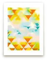 Abstract Triangle Geome... by Amy Lighthall