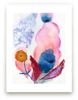 Unlikely Lilacs by Anna Marie Farmer