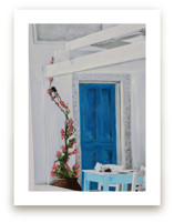 Santorini Cafe by Katrina Leandro