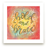 Bold and Brave Letterin... by Elaine Stephenson