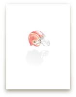 Football Nursery Print by Taylor H Wiedemann