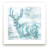 Abstract Buck by Heather M. Roberts