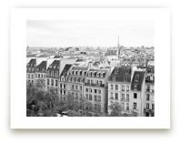 Marais Rooftops by Caroline Mint