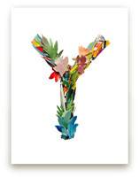 Collage letter Y by Kiana Mosley