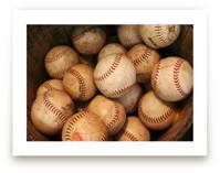 Antique Baseballs by Honey Madison