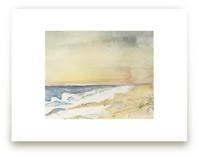 Nantucket Sunset by Hallie Fischer