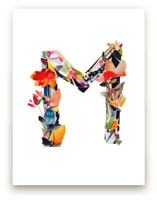 Collage Letter M by Kiana Mosley