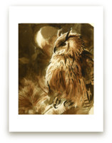 Moon Owl by Tracy Ann