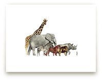 Safari Animal Parade