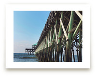 Fishing off the Pier by Jessica Marchetti