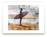 Indigo Shibori Surfer  by Annie Seaton