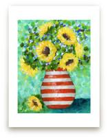 Sunflower Bliss by Sen Chloe