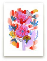 Bright Boquet by Anna Marie Farmer