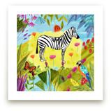 Jungle Zebra by FARIDA ZAMAN