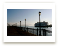 Foggy Pier by AJD