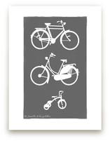 La Famille de Bicyclett... by That Girl Studio