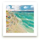 Florida Beach by Lindsay Megahed