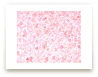 Abstract Bright Pink Fi... by Pamela Steiner