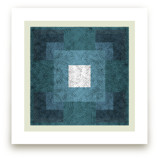 Scribble Squares  by Kathleen Ney