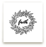 Faith Wreath by LY by Lyna Ti