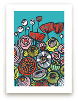 Pop Art Blooms by Gill Eggleston