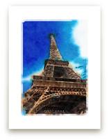 La Tour Eiffel de Paris by Teng Wang