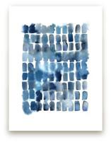 indigo wash marks by Kelly Witmer