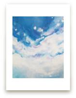 Clouds Descending  by Jennifer Hallock
