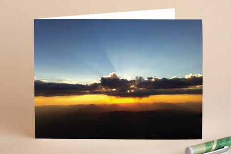 Sunrise card Greeting Cards