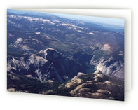 Yosemite from the Sky card