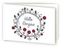 Hello Gorgeous by William Reid Stationery