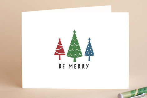 Merry Trees. Holiday Cards