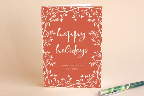 Holiday Botanical Holiday Cards
